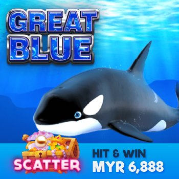 Wager on Great Blue Scatter11 Game Online